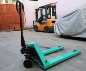 Xe nâng tay thấp Mitsulift 2,5 tấn nhập khẩu