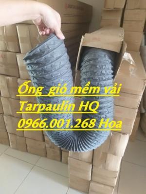 Ống gió vải Tarpaulin phi 100,Ống gió vải Tarpaulin phi 200 giá rẻ