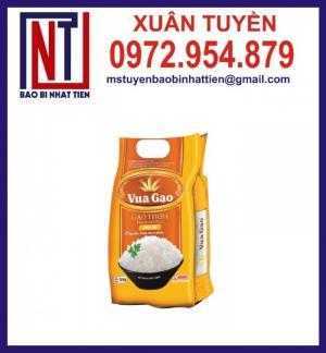 Sản xuất bao bì gạo gạo 5kg in trục ống đồng giá tốt nhất