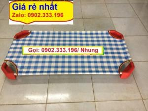 Bán giường mầm non rẻ nhất, bán giường mẫu giáo rẻ nhất tphcm