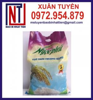 Chuyên cung cấp in ấn túi gạo 5kg PA.PE