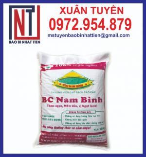 Chuyên sản xuất cung cấp bao bì gạo 10kg