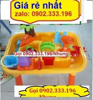 Bể chơi cát nước trẻ em, bồn chơi cát nước mầm non