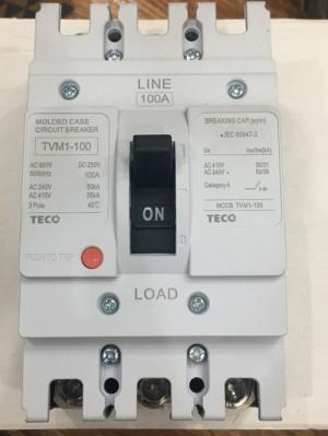 APTOMAT TECO (MCCB) TVM1-100/100A
