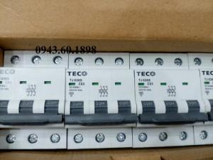 At Tép MCB 3pha 63A Teco Đài Loan