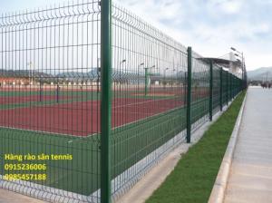 Sản Xuất Hàng rào sân Tennis, hàng rào sơn tĩnh điện, hàng rào mạ kẽm