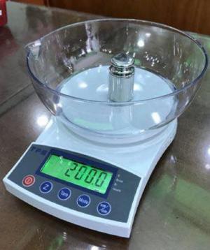 Cân điện tử VMC FRJ 500g-1kg-2kg-3kg-5kg, có tô, bảo hành 1 năm
