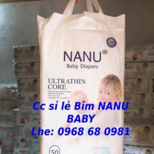 Cc sỉ lẻ Bỉm quần NANU BABY xuất nhật Lhe 0968680981