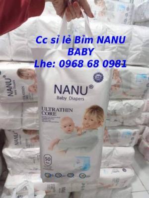 Cc sỉ tã quần NANU BABY xuất nhật Lhe 0968680981