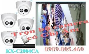 Thiết bị camera chất lương chính hãng có ghi âm thương hiệu KBVISION