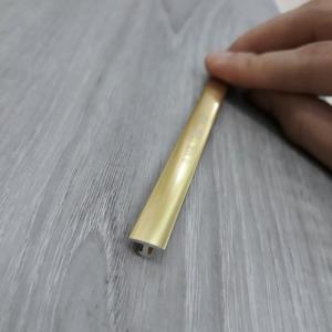 Nẹp trang trí hợp kim nhôm T8 vàng bóng