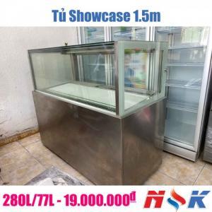 Tủ mát trưng bày Showcase 1.5m