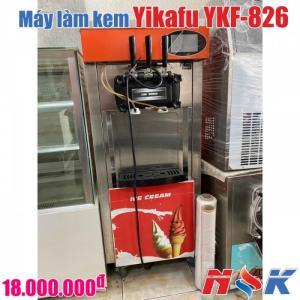 Máy làm kem tươi Yikafu YKF-826 (3 vòi)
