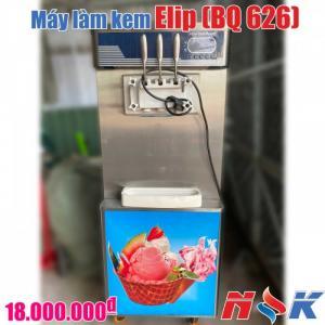 Máy làm kem tươi Elip BQ-626 (3 vòi)