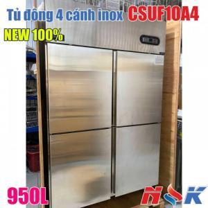 Tủ đông 4 cánh inox CSUF10A4 950 lít hàng mới 100%