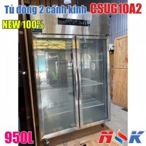 Tủ đông 2 cánh kính CSUG10A2 950 lít hàng mới 100%