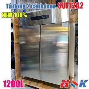 Tủ đông 2 cánh inox SUF12A2 1200 lít hàng mới 100%