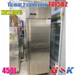 Tủ mát 2 cánh inox FUF5B2 450 lít hàng mới 100%