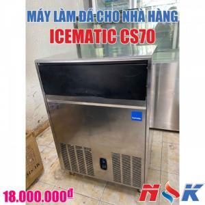 Máy làm đá viên cho nhà hàng Icematic CS70