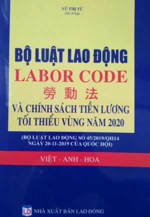 Bộ luật lao động tiếng Hoa 2020 - 2021 ,luật lao động tiếng trung 2020-2021