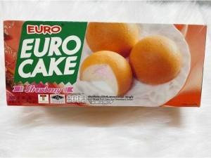 Bánh trứng euro custard thái lan- nhân dâu