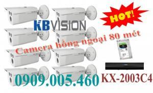 Camera quan sát hồng ngoai 80 mét kx-2003c4