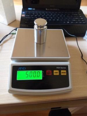 Cân bột làm bánh - cân FEH - 5KG
