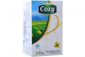 Trà hoa cúc Cozy túi lọc hộp 40g (20 gói) - HCC20