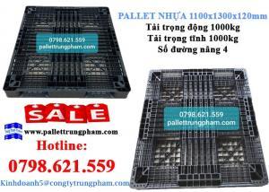 Pallet nhựa 1100x1300x120 giá ưu đãi - sale off