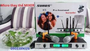 Micro không dây Subos K9 chức năng 3 trong 1, mẫu 2020