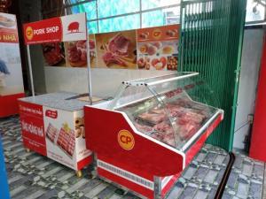 Cần bán : tủ đông mềm trưng bày thịt tươi
