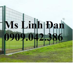 Lưới thép hàng rào mạ kẽm, lưới thép hàng rào sơn tĩnh điện,