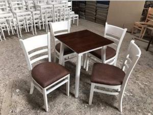 Xưởng gỗ giá rẻ là đây..Bộ bàn ghế gỗ Capin