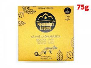 Cà phê Chồn Túi Lọc Arabica Mountain's Leggend 75g - MSN181362
