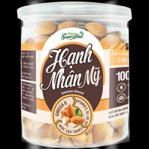 Hạnh Nhân Mỹ Your Super Food 240g 100% Nhập Khẩu Từ Mỹ - MSN181365