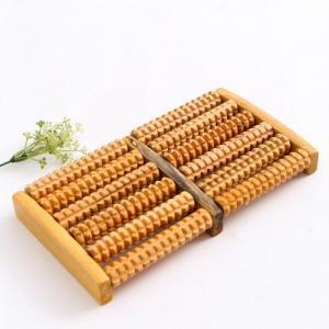 Bàn massage chân bằng gỗ 5 hàng
