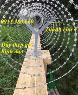 Nơi bán dây thép gai hình dao đường kính 30cm, 45cm ,60cm