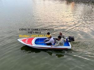 Thuyền nhựa, thuyền nhựa 4-6 chỗ ngồi, thuyền nhựa composite