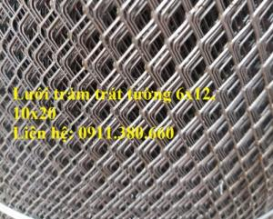 Sản xuất lưới trám trát tường a6x12, a10x20. Khổ 1mx65m/ cuộn