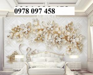 Tranh gạch trang trí phòng ngủ