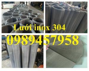 Lưới lọc công nghiệp inox304, inox316 120mesh, 200mesh, 300mesh, 400mesh
