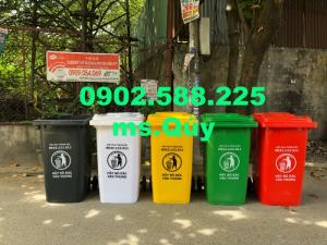 Thùng rác 120l, 240l giá rẻ