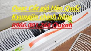 Quạt cắt gió Kyungjin Hàn Quốc KR-900,KR-1200,KR-1500 chính hãng giá tốt