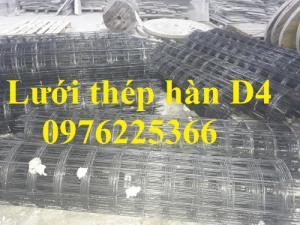 Lưới thép hàn D4 a200*200, cuộn 2x25m có sẵn