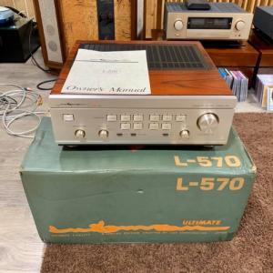 Ampli LUXMAN L-570