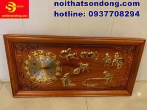 2020-07-05 10:18:27  1  Tranh đồng hồ dát vàng Cha Mẹ cực đẹp giá cực rẻ 2,250,000