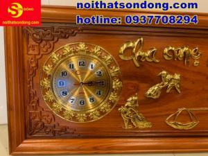 2020-07-05 10:18:27  2  Tranh đồng hồ dát vàng Cha Mẹ cực đẹp giá cực rẻ 2,250,000
