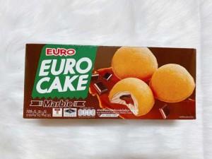 Bánh bông lan trứng Euro Cake Thái Lan- Nhân Sô cô la