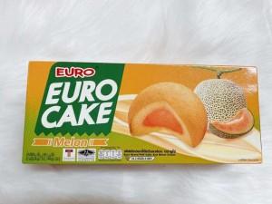 Bánh bông lan trứng Euro Cake Thái Lan - Nhân Dưa lưới