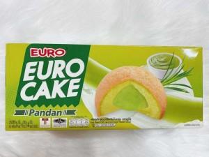 Bánh bông lan trứng Euro Cake Thái Lan- Nhân lá dứa